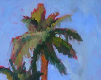 Original Oil Painting:  Palm Trees//Arizona//Wall Art 12 x 16