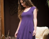 The Market Dress - Fresh Hemp & Organic Cotton Jersey