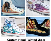 Custom Hand Painted Converse Shoes