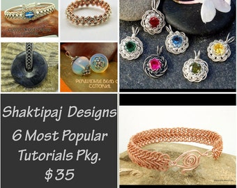 Shaktipaj Designs 6 Most Popular PDF Tutorials Package