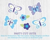 Cute Butterfly Cut Outs /...