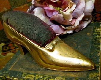 Ladies Shoe Pincushion