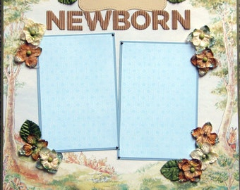 "CLEARANCE LIQUIDATION 12x12 Single ""Newborn"""