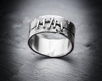 STITCHES ring