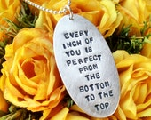 Every Inch Of You is Perfect From the Bottom to the Top Necklace