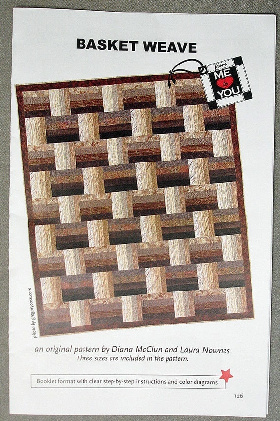 Basket Weaving Star Pattern : Quilt pattern basket weave by quiltedlovelies on etsy