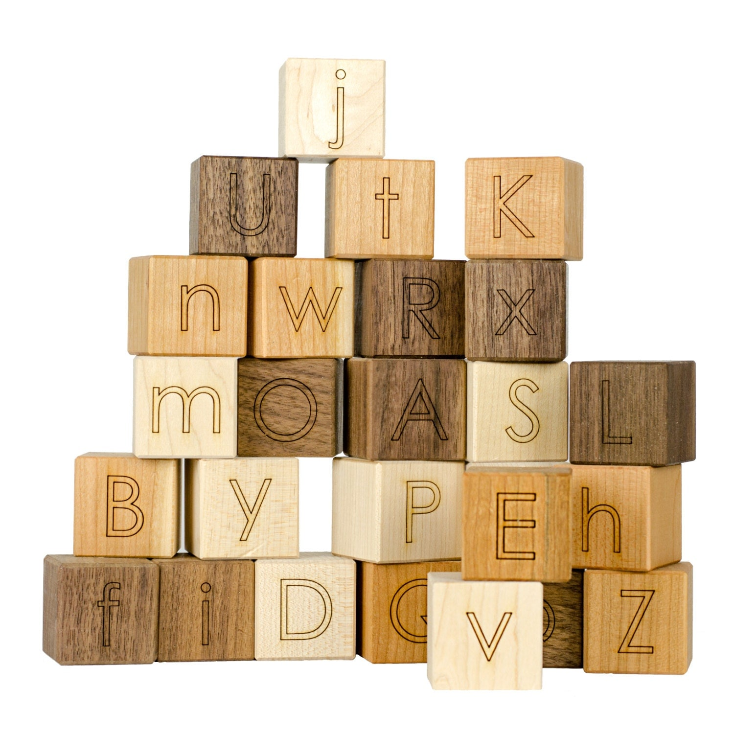 Alphabet Blocks Toy Learning Toy Developmental Toy ABC