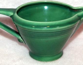 Homer Laughlin Harlequin Regular Creamer Light Green