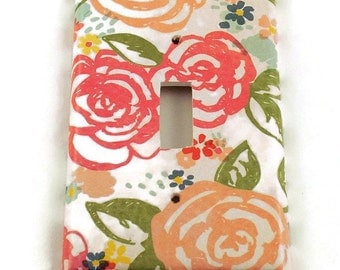 Wall Decor Switchplate Light Switch Cover    Switch Plate  in Savannah   (124S)