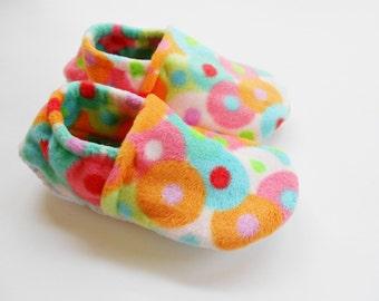 Custom Bliss Fleece Slippers for Adults/Kids