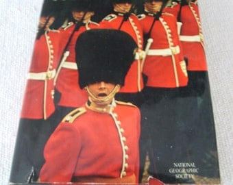 1972 This England National Geographic Society Hardcover Book