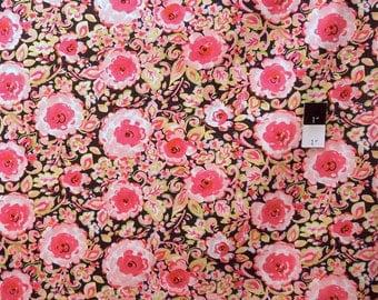Dena Designs PWDF120 London Manchester Black Cotton Fabric 1 Yard