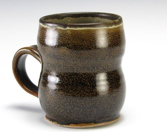 Dark Brown Double  Bubble Cup