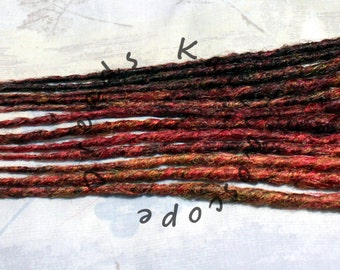 Custom Smooth or Crochet Styled Accent Kit 6x DE or 12x SE ANY Length Synthetic Dreadlock Hair Extensions