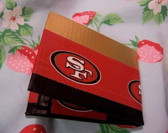 sf 49ers duct tape wallet