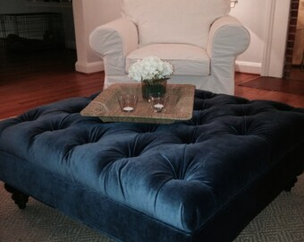 A Custom Designed Ottoman - Your Fabric, Your Style... by Custom Ottoman Designs
