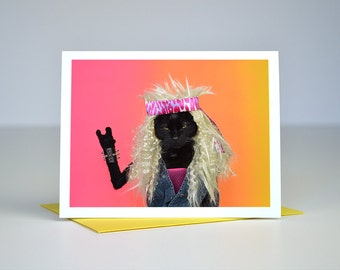 AC Rocks You Greeting Card
