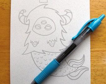 MerYeti Notepad