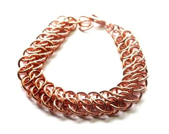 Copper Chainmaille GSG Bracelet