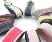 Leather Key Chain - Key Fob Wristlet - Handmade Key Ring - Wrist Strap - Key bracelet - Key Ring key Fob -Custom Leather Goods