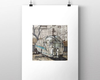 Airstream No. 1 art print