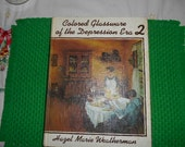 1977 Large HB Book Colored Glassware of the Depression Era 2 Hazel Marie Weatherman