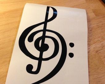 Music Symbol Decal