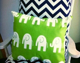 Chevron cushions, chair cushions, rocking chair cushions, rocker cushions, cushions, navy chevron cushions, chair pads, elephant pillow