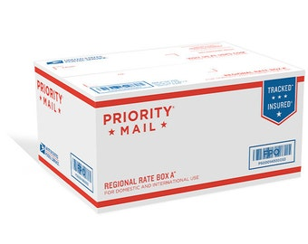 UPGRADE: Priority Mail Shipping - Up to THREE items only!