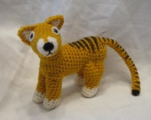 Made to order - Thylacine or Tasmanian Tiger Plush - reserved for athylacinus