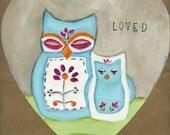 Heart - Loved Owl
