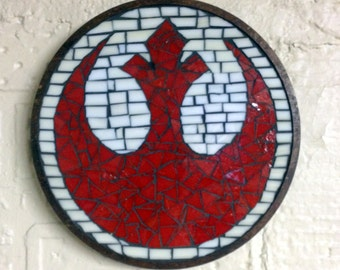 Star Wars Rebel Alliance Wall Plaque - Made to Order