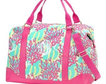HOLIDAY SALE!! Weekender Travel Duffel Bag Monogrammed