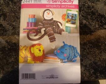 Simplicity yo-yo toys pattern