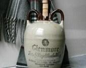 Stoneware Glenmore Whiskey Jug 1950s