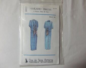 1997 Milano Dress Pattern #6027
