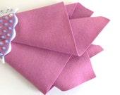 Rose Pink, 100% Wool, Felt Sheet, Large Square, Choose A Size, DIY Craft Supply, Waldorf Handwork, Felt Flowers, Doll Supply, Soft Pink