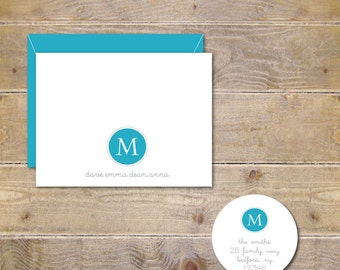 Family Stationery, Family Stationary, Family Thank You Cards, Family Note Cards, Personalized Stationery