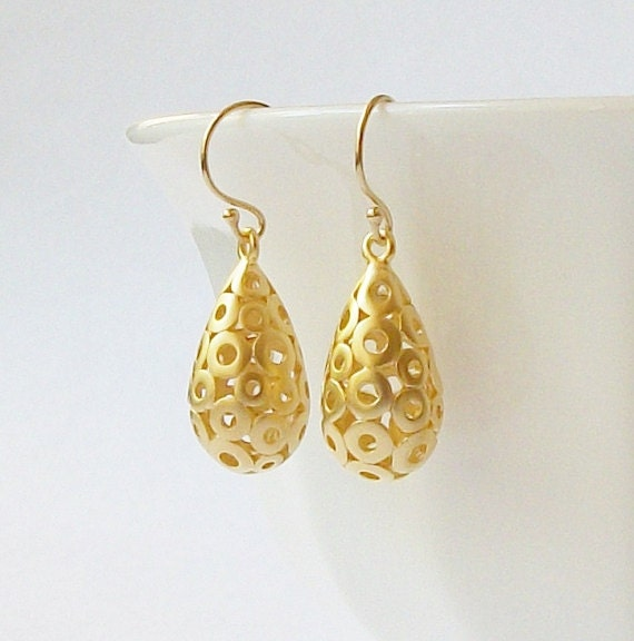 Mod Drop Dangle Earrings