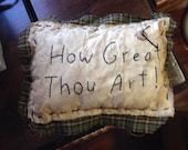 Primitive Throw Pillow