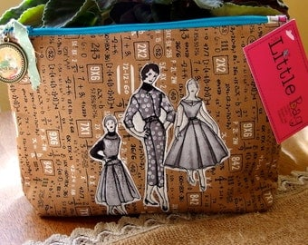 Cute Little Cosmetic Bag Vintage