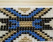 Ojibway Loomed beadwork piece
