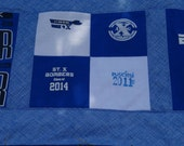 Reserved for Erin T shirt Memory Quilt with Your  Tee Shirts
