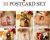 Postcard Set - Buy 8 postcards - Get 2 for free