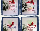 Toilet Paper Sayings Embroider Gift your choice Let it go