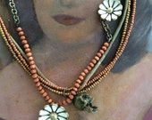 Death and Daisies - Necklace