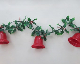 Items Similar To Christmas Garland Red And Green 7 Yards On Etsy