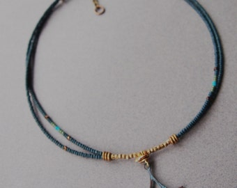 Egyptian Fan Necklace