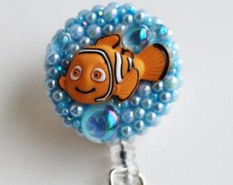 Finding Nemo ID Badge Reel - RN ID Badge Holder - Zipperedheart