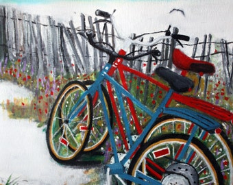 Bikes on the Beach-Jersey -SIGNED PRINTS8 X10-15.00,11x14- 25.00,13X19- 35.00Message me and I will list them for you.